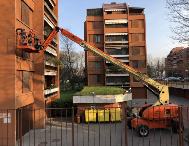 Basiglio Residenza Alberata - facciate_4